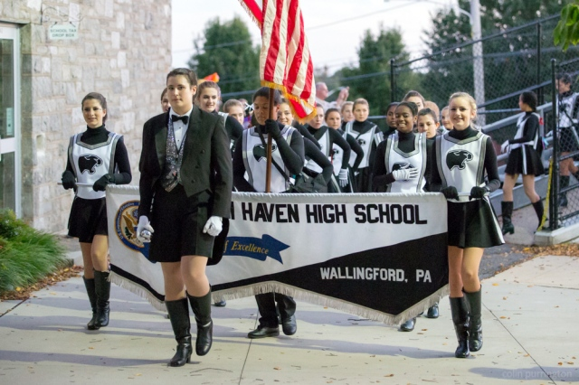 Strath Haven High School marching band